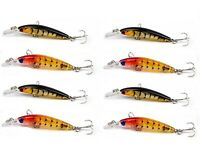 8 x Whiting Lures Minnow Fishing Lure Flathead lure Bream Lure Bass Lures New !!