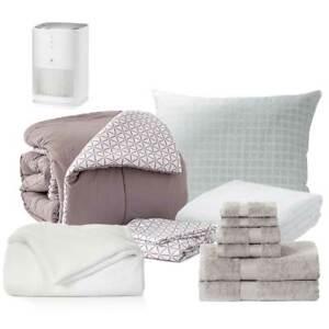 DAWN 13-Piece College Purist Bundle, Twin XL Bedding, Bath & Medify, 10+ Styles