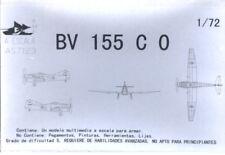 Blohm und Voss BV 155 C0; Scale 1:72; brand AESCALA; UNASEMBLED model Kit