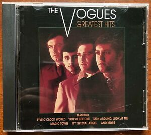 THE VOGUES GREATEST HITS CD - 18 TRACKS - RHINO RECORDS
