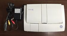 NEC PC Engine DUO-RX Console System CD rom working