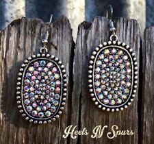 925 Silver Gemstone Natural Ear Hook Dangle Drop Oval Cut Earrings Wedding Lady