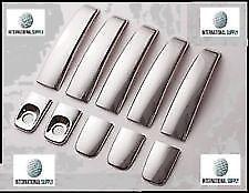 VAUXHALL (OPEL) VIVARO 2001-2014 chrome door handle cover 5 door S.STEEL