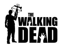 Decal Vinyl Truck Car Sticker - Zombie The Walking Dead Daryl Dixon V2