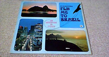 OS SAMBACANAS FLY ME TO BRAZIL 1st UK LP 1969 Jazz Bossa-Nova The Beatles