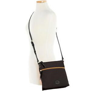 Dooney & Bourke Nylon Crossbody Shoulder Bag Black/Black NWT