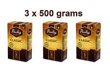 3 x PAULIG Classic Ground Guatemala Coffee 100% Arabica 3 x 500g 17.6oz