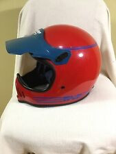 Vintage Bell TNT Motocross Motorcyle Helmet Vetter Rare Red XL Moto ATV