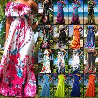 ANGELA NEW Evening 1 Shoulder Women Long Maxi Dress Size Sz M - XXXL 8 - 24 US