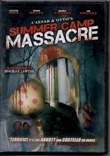 Caesar And Otto'S Summer Camp Massacre (2009) - Horror Comedy - Brand New Dvd
