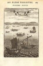 ASIA/AFRICA BOATS. A China B India C Almadia canoe D Tome E Palegua logboat 1683