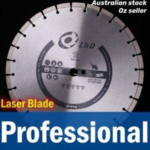 "3PK 16""(415mm)Professional Laser welded diamond saw blade 12mm high segment demo"