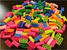 Kids Special Package, 200 Mixed Bright Color 2x4 bricks, Compatible to Lego 3001