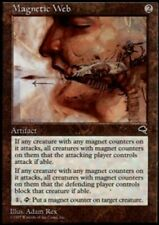 4 Magnetic Web ~ Near Mint Tempest 4x x4 Playset UltimateMTG Magic Artifact Card