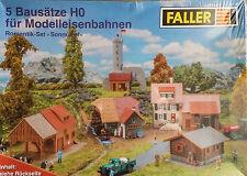 FALLER Gebäudebausätze H0 für Modelleisenbahnen - Landschafts-set 1 87