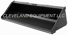 New 60 Low Profile Bucket Skid Steer Loader Attachment Mustang Case Gehl Volvo
