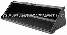 New 60 Low Profile Bucket Skid Steer Loader Attachment Asv Posi Track Scat Trak