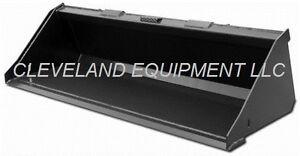 "NEW 72"" SD LOW PROFILE BUCKET Skid-Steer Loader Attachment Kubota Bobcat Gehl 6'"
