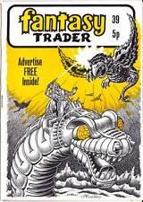 FANTASY TRADER #39 - 1979 UK comics fanzine - Alan Hunter, E-MAN, John Byrne