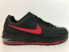 Nike Air Max LTD 3 Running Shoes Mens Size 9.5 Black/University Red 687977-065