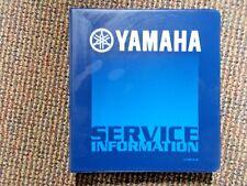 2003 Yamaha Motorcycle & Atv Update Manual Lit-10501-01-80