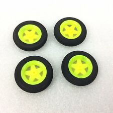 4 X SUPER LEGGERO Multi Spoke Wheels-Aereo RC - 30 x 6 mm-centro foro 1 mm -