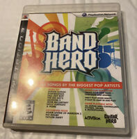 Band Hero (Game Only) Guitar Hero for PlayStation 3 PS3 No Manual