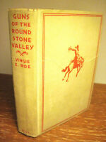1st Edition Guns of Round Stone Valley Vingie Roe Western First Printing Fiction