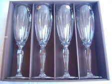 Collections Cristal d' Arques - Classic Champagne Flutes Made in France Set of 4