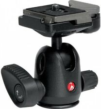 Mini Manfrotto Ball Head Rapid Connect Plate Maximum Load 8.8 lbs 4 kg Durable