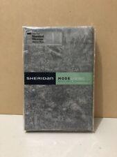 """SHERIDAN STANDARD PILLOWCASES ~ BRAND NEW ~ 1 PAIR """" LONATU SMOKE """" 50 X 75 CM"""