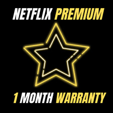 ⭐ Netflix 1 Month ⭐ 4K ⭐ 4 Screens ⭐ Fast Delivery ⭐