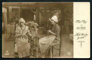 Estonia H72 Postcard 1925 used Parnu Film Art Austrian Actress MIA MAY