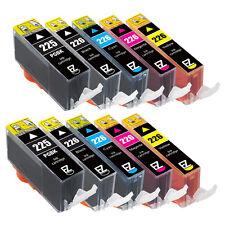 10 Pack PGI-225BK CLI-226C CLI-226M CLI-226Y CLI-226BK Ink Cartridge for Canon