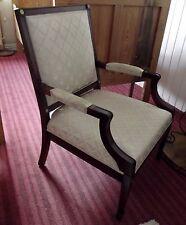 Sessel, Armlehnensessel, Polster, Holzgestell