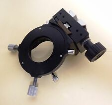 Nikon Microphot Microscope Condenser Mount and Rack Control