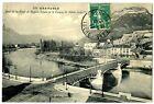 CPA 38 Isère Grenoble Pont de la Porte de France l'Isère et Casque de Néron
