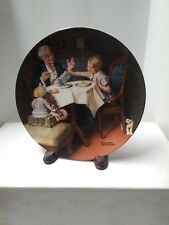 """Norman Rockwell Heritage Collection 1985 """"The Gourmet"""""""