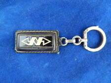 PORTE-CLES ANCIEN / Key ring - AUGIS - CUIR ET EMAILLE / Lather and enamelled