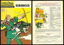 Philippine Famous Classic Illustrated Komiks ROBINHOOD  Comics