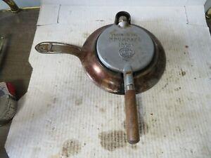 Vintage Nordic Ware Krumkake Iron Scandinavian USA Made Wooden Handles