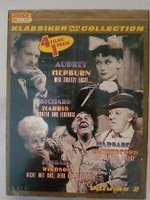 Klassiker DVD Collection 4 Filme, Audrey Hepburn, Richard Harris, Volume 2