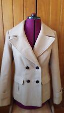 Abrigo Chaqueta 3/4 Beige Tamaño 10