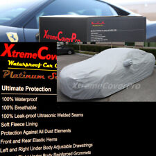2017 2018 2019 2020 ALFA ROMEO GIULIA WATERPROOF CAR COVER W/MIRROR POCKET GRAY