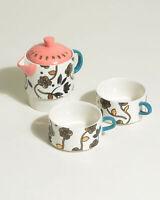 Oliver Bonas Women Zoloto China Tea for Two Tea Set