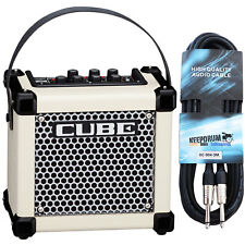 Roland Micro Cube GX Guitar Amplifier White+Cable