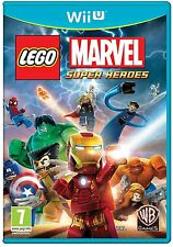 Nintendo Wii U GAME LEGO Marvel: Super Heroes for the New WiiU NEW