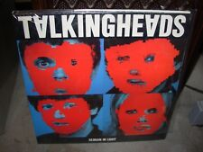 TALKING HEADS remain in light ( rock ) SEALED NEW - 1st pressing sire SRK 6095 -