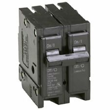 Eaton Corporation Br260 Double Pole Interchangeable Circuit Breaker, 120/240V, 6