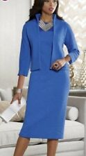 Ashro Cobalt Blue Formal Church Anna Sofia Jacket Dress 6 8 10 12 16 20W 22W 26W